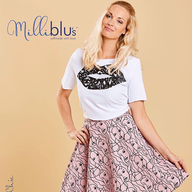 Die tolle Frühling/Sommer-Collection von Milliblu's ist bei uns im @stofflager erhältlich! Das Magazin mit Schnitten natürlich auch