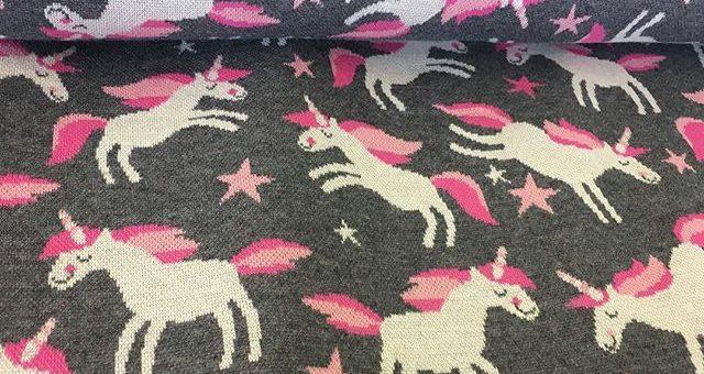 🦄🦄🦄 #hamburgerliebe #unicorns #jacquardjersey #bio