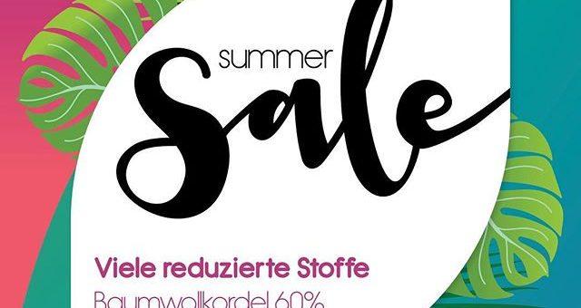 Summer Sale in Deinem Stofflager #summersale #stoffladen #griesheim #darmstadt