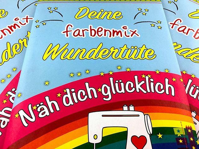 Hey liebe Insta-Freunde! Auf unsere Seite im Facebook kann man eine Farbenmix-Wundertüte gewinnen!  Macht mit