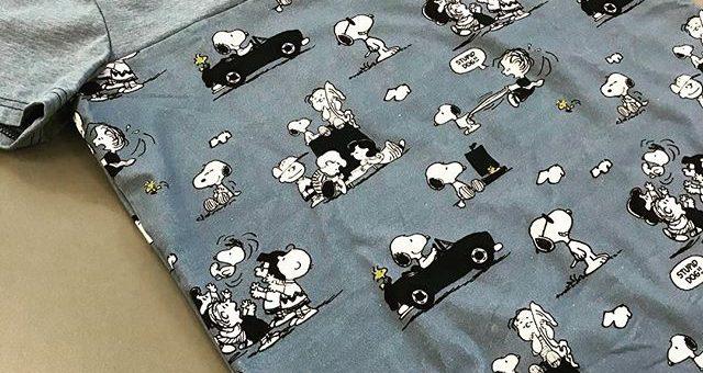 Super cooles T-Shirt von unserer @mijumiju1 aus dem Snoopy-Stoff