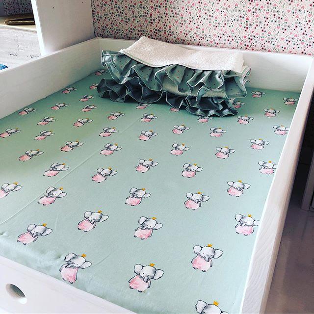 🏼Nähprojekt erfolgreich! Wickelunterlage und Handtücher selbst gemacht passend zum Kinderzimmer.