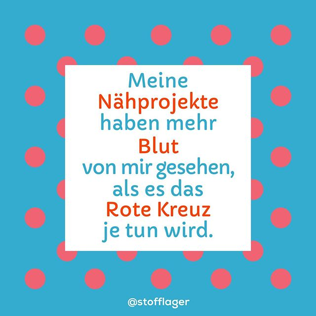 🏼 Stimmst du zu, oder doch umgekehrt? #nähprojekt #blut #roteskreuz #stofflager #griesheim #nähen #stoffe #fabrics