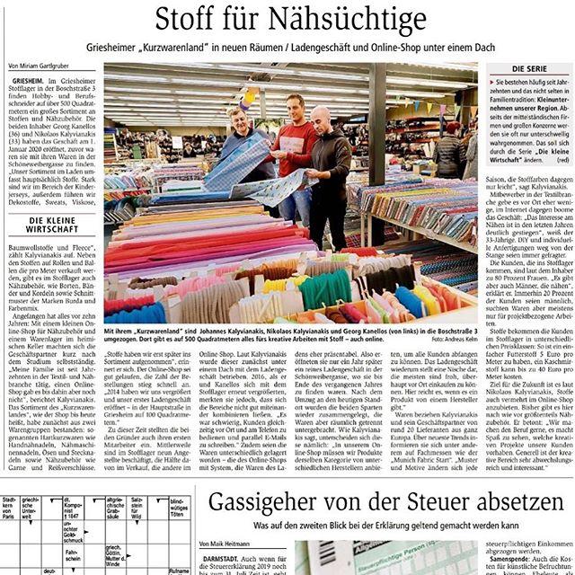 Wiedereröffnung des Stofflagers in Griesheim  #stofflager #darmstädterecho #sohappy