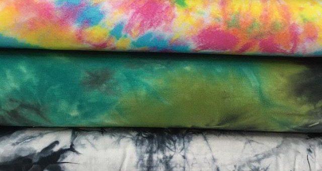 neue Jersey Batik Stoffe  für dein buntes Leben 🤩