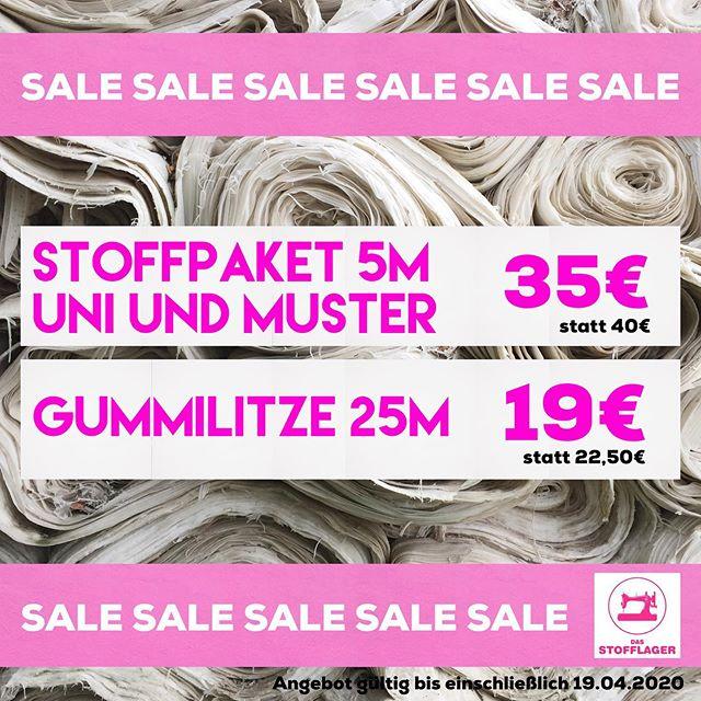Letzte Chance: Alle Baumwollstoffpakete (Uni oder Muster) gibt es ab sofort für nur 35€ statt bisher 40€. Das Paket beinhaltet 5x 1m Baumwollstoffe. Die weiche latexfreie 25m Gummilitze ist weich und angenehm, für nur 19€ statt bisher 22,50€. #stayhealthy #staysafe #mundschutz #mundmasken #corona #nähenmachtglücklich